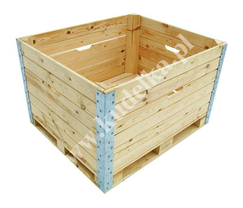 Zaawansowane Skrzyniopalety i palety drewniane - Producent PJ39
